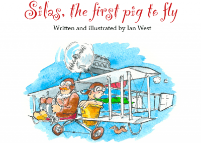 SILAS THE FIRST PIG TO FLY