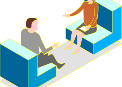 Isometric illustrations for websites – flat images .