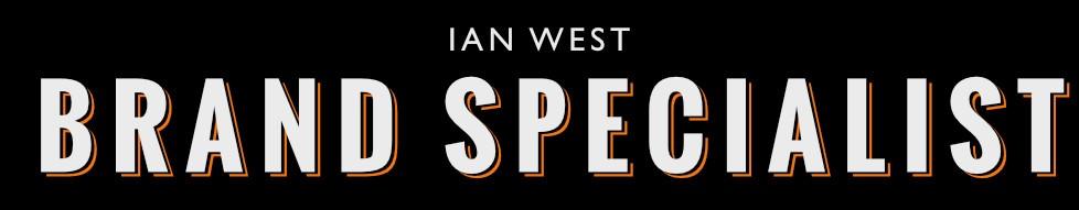 Ian West Brand Specialist